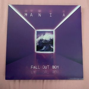 Fall Out Boy — Mania colored Vinyl